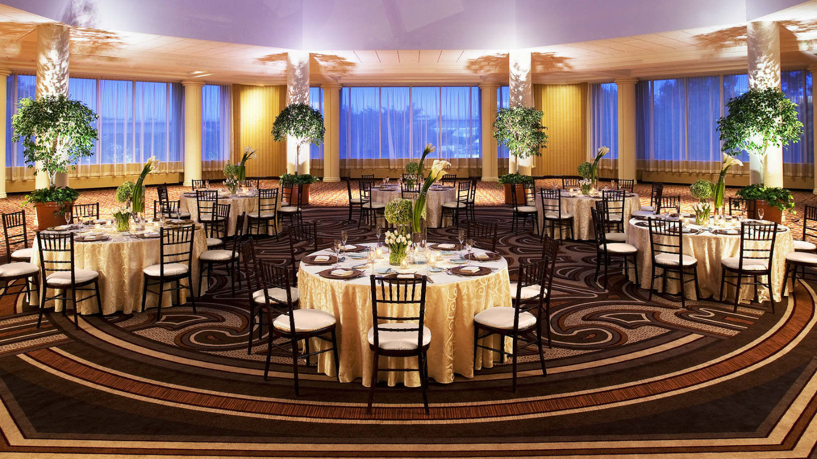 Meeting Rooms Tysons Corner | Tysons Ballroom Social Set Up